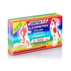 Carnitina Plus - Robis - 20 ampollas