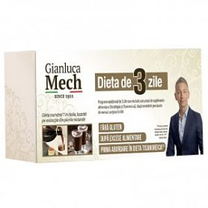 Dieta 3 Días - Gianluca Mech - Herbofarm - 1 kit