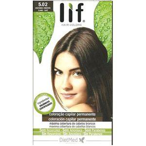 Tinte Cabello Lif Hair Colors 5.02 - Castaño Marrón - DietMed - 1 kit