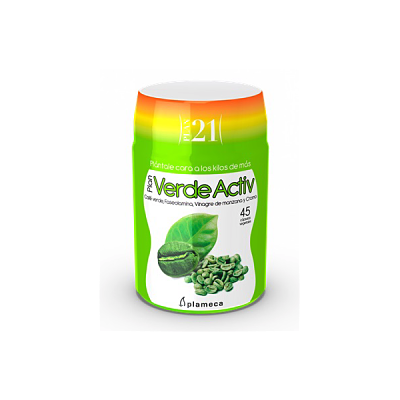 Plan Verde Activ - Plan 21 - Plameca - 45 cápsulas