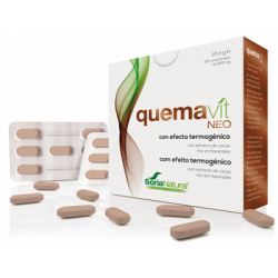 Quemavit Neo - Efecto termogénico - Soria Natural - 28 comprimidos