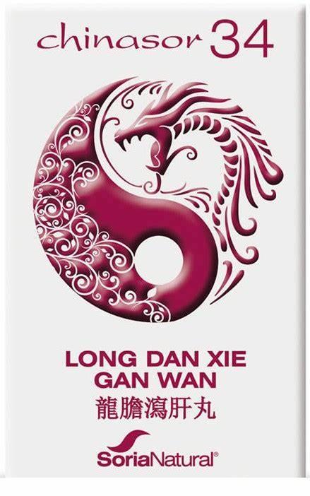 Chinasor 34 - LONG DAN XIE GAN WAN - Soria Natural - 30 comprimidos