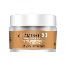 Gel Crema Diaria Vitamina C 50+ - Natysal - 50 ml