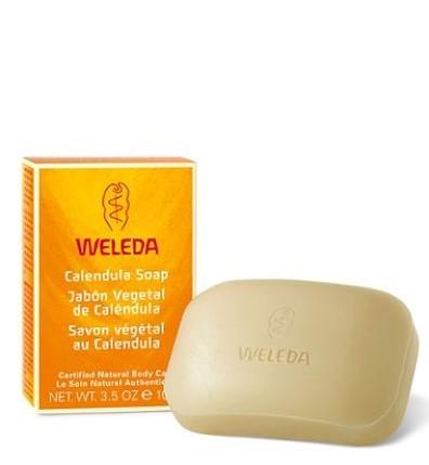 Jabón vegetal de Caléndula - Weleda - 100 gramos
