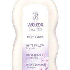 Leche Corporal de Malva Blanca Baby Derma para Pieles Atópicas - Weleda - 200 ml