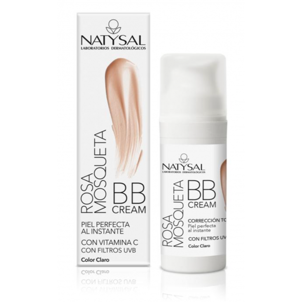 Rosa Mosqueta BB Cream - Color Claro - Natysal - 30 ml
