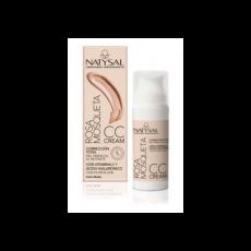 Rosa Mosqueta CC Cream - Color medio - Natysal - 50 ml