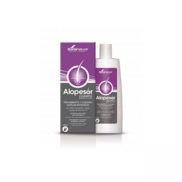 Alopesor Champú - Tratamiento Capilar - Soria Natural - 200 ml