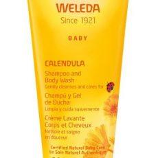 Champú y Gel de ducha de Caléndula - Weleda - 200 ml
