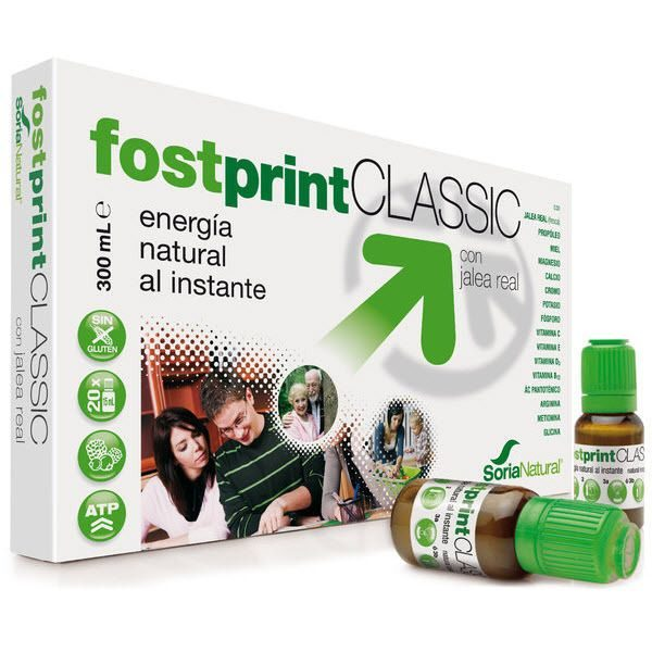 Fostprint Classic - Soria Natural - 20 ampollas