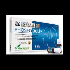 Phosfoactiv - Rendimiento y Concentración - Soria Natural - 20 viales