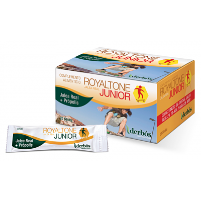 Royaltone Junior - Desarrollo físico e intelectual - Derbós - 15 sticks