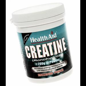 Creatina (Monohidrato) - Health Aid - 200 gramos