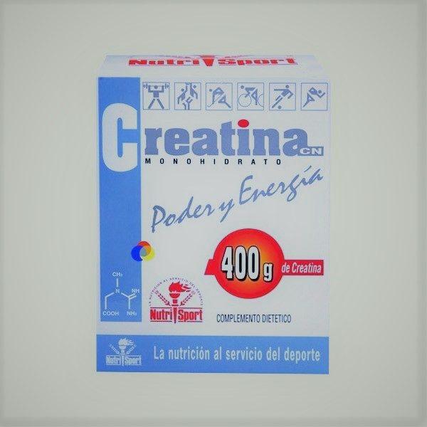 Creatina CN Monohidrato - NutriSport - 400 gramos