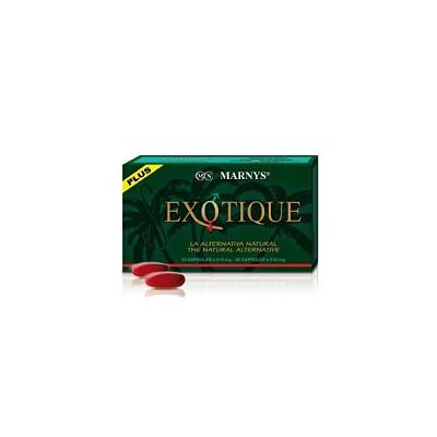 EXOTIQUE PLUS 30 cápsulas x 510 mg - Marnys