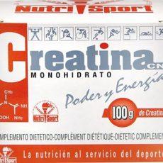 Creatina CN Monohidrato - NutriSport - 100 gramos