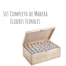 Set Completo Madera Elixires Florales